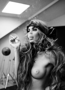 catrin-cleason-topless-naked-nude-danish-supermodel-fashion-photography-signe-vilstrup-cigarette
